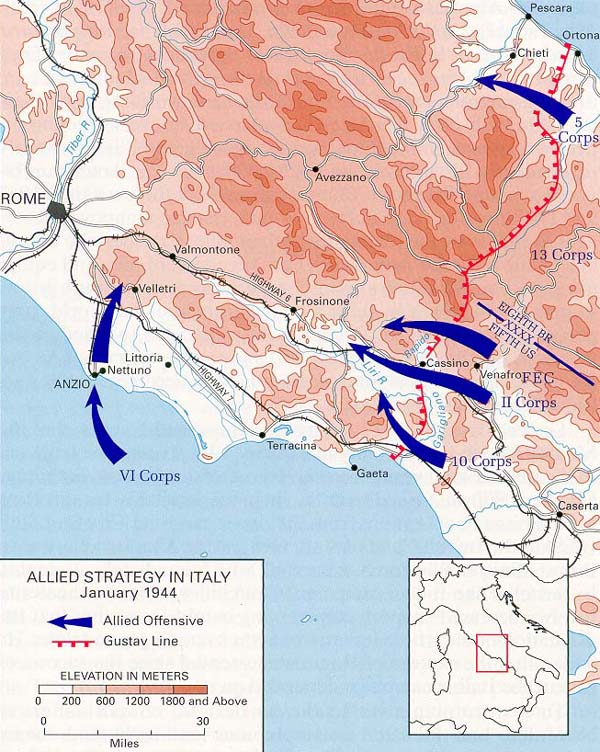 Table of contents allied strategy in italy january 1944 gumiabroncs Choice Image