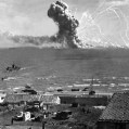 Ammunition vessel hit by German aircraft, Sicily