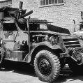 Half track with 37mm AT gun