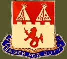 157th Infantry Crest, 45th Division, second Worldwar