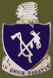 179th Infantry Regiment Crest, second worldwar